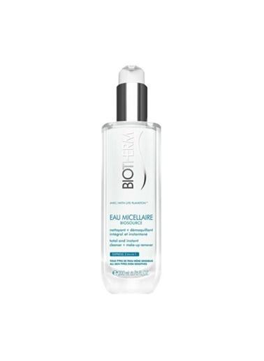 Biotherm Biosource Micellaire Cleanser + Makeup Remover 200 Ml Makyaj Temizleyici Renksiz